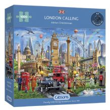 London Calling - 1000 Piece Jigsaw Puzzle